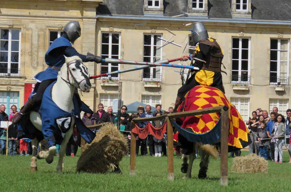 Joutes médiévales, écurie Castillon